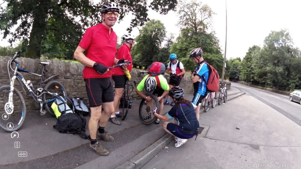 yet another puncture!