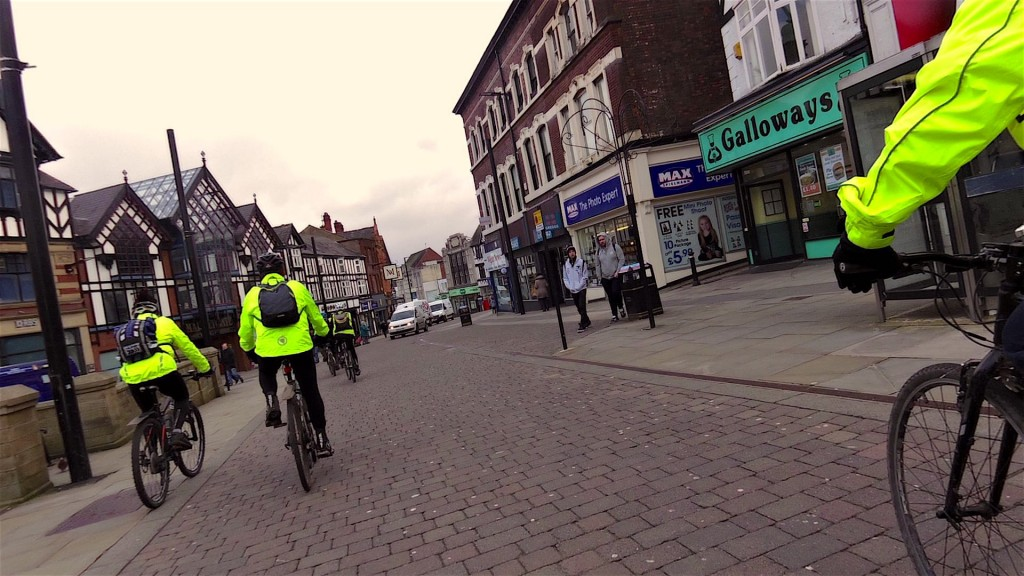 Typical Wigan ride, pie shop on hand just in case!