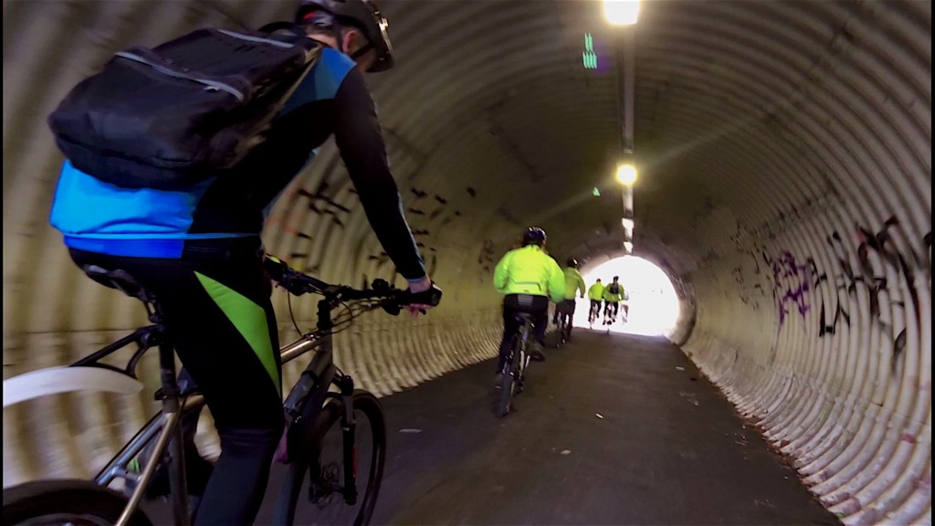Yet another tunnel shot!