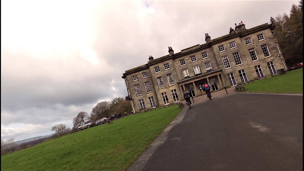 Haigh Hall suffers severe overnight subsidence!