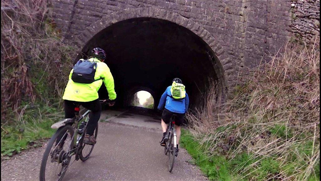 Obligatory Tunnel shot!