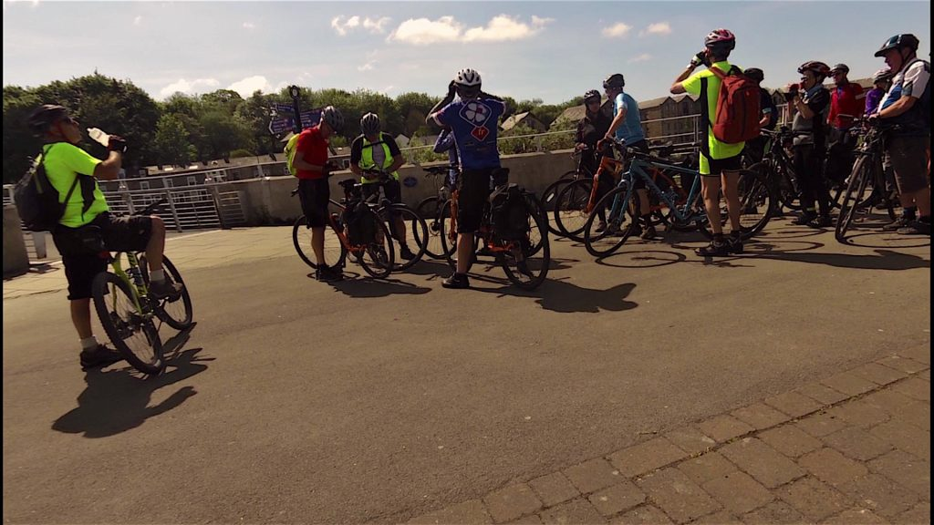 Millennium Bridge, sorry folks but the rides over. Hope you enjoyed it!
