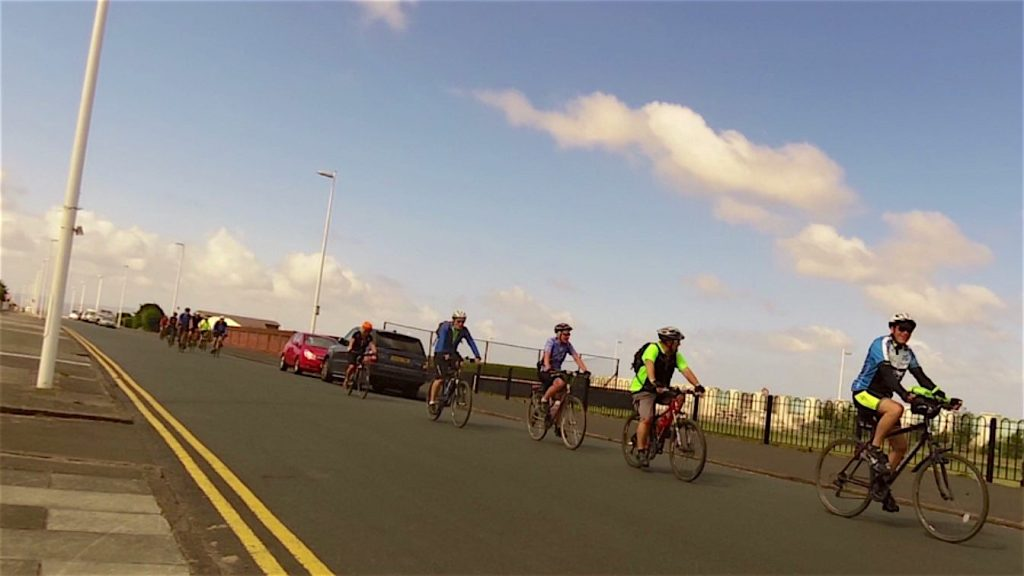 The road to New Brighton, please tell me Denis isn't leading!