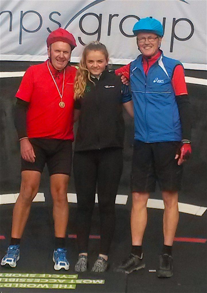 Gold medal winner & runner up, both winners it seems!!!