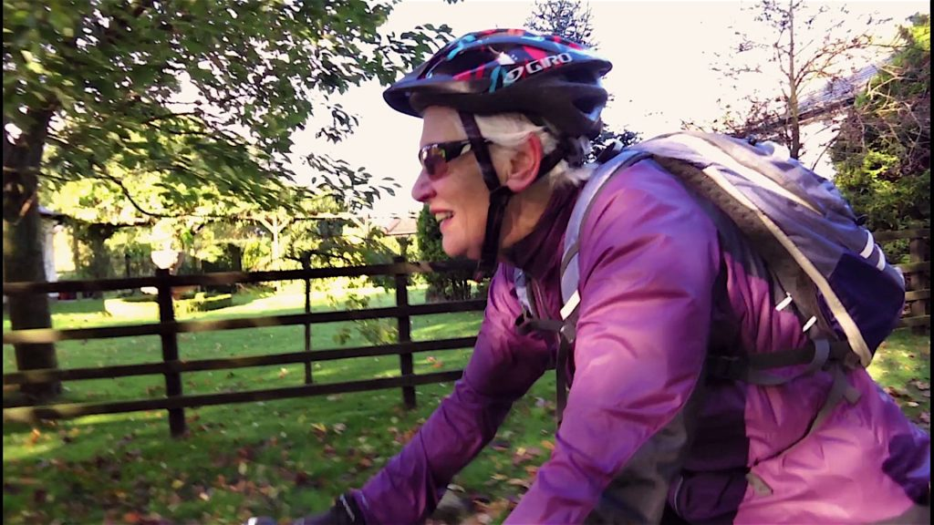 How's the bike doing Joyce?